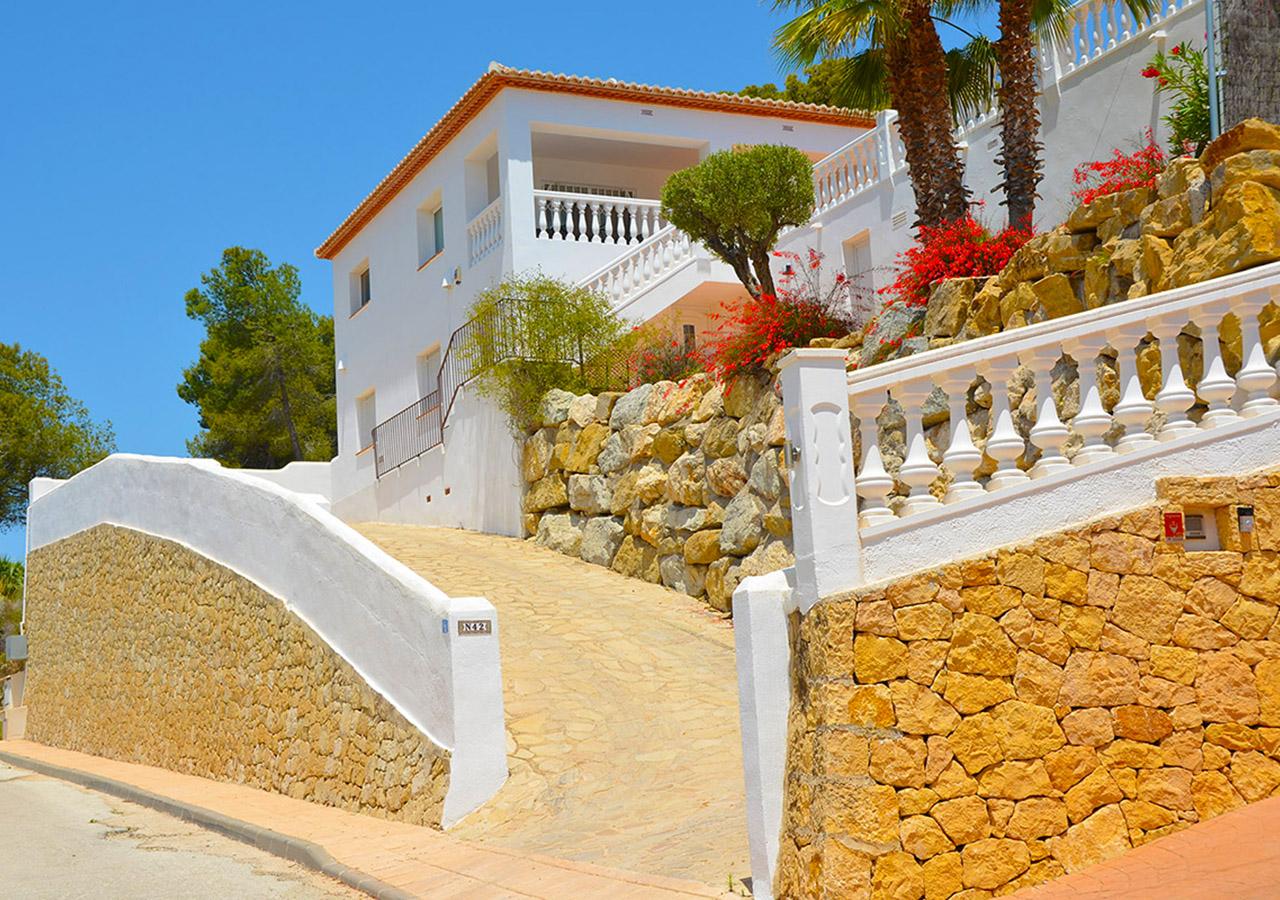 Villa Colina - CostaBlancaDreams holiday rentals - Benissa, Costa Blanca